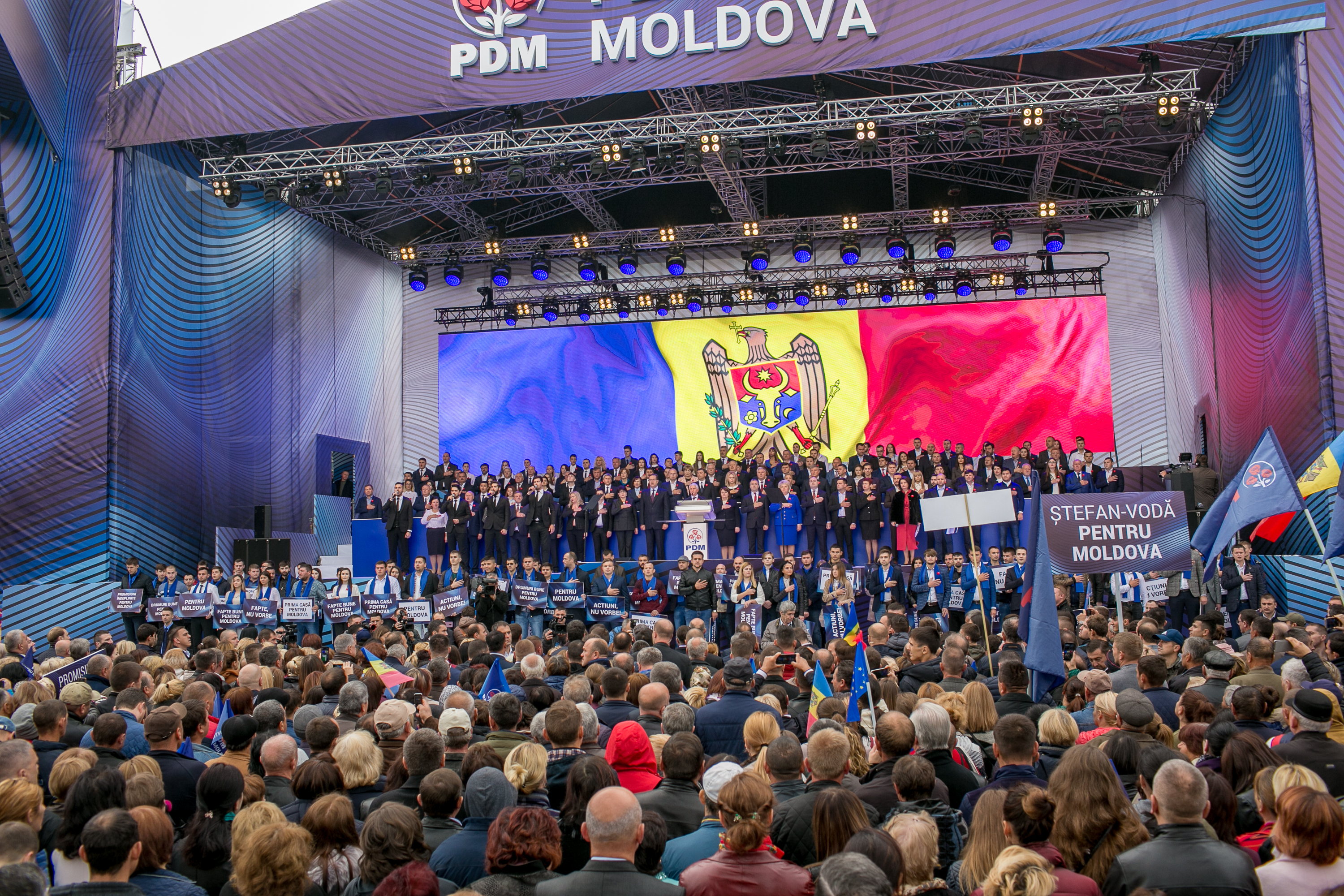 "The speech by PDM president Vlad Plahotniuc at ""PDM is pro-Moldova"" National Assembly"