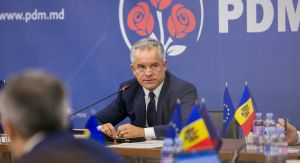 Chisinau, 23th October  2018 - Press briefing, held by the leader of the DPM Vlad Plahotniuc