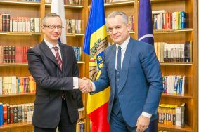 Chairman of PDM, Vlad Plahotniuc, and Head of OSCE Mission to Moldova, Claus Neukirch,  Discussed Ways to Solve Transnistrian Conflict