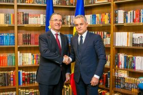 Vlad Plahotniuc had a meeting with Franco Frattini, the OSCE Special Rep. for Transnistrian Settlement