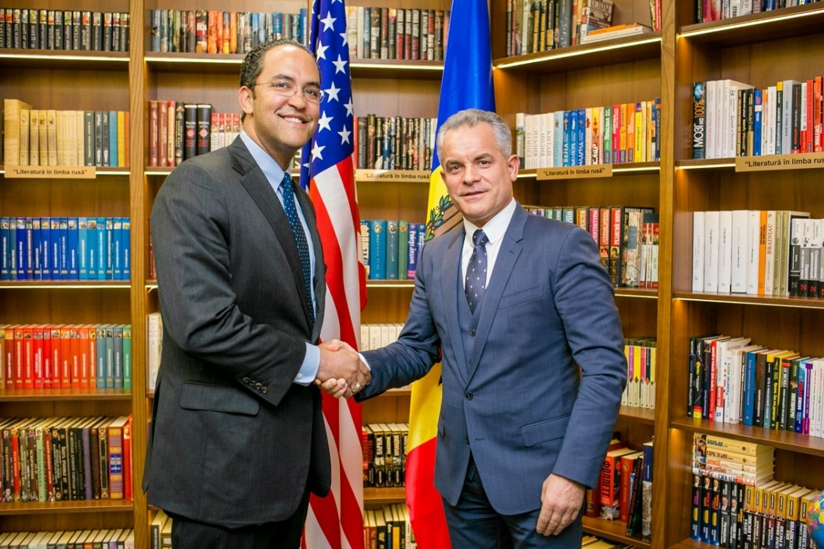 The Leader of the Governing Coalition, Vlad Plahotniuc, Had a Meeting with Congressman from Texas, William Ballard Hurd