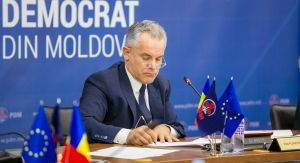 20th May 2018 - Press briefing, held by the leader of the DPM Vlad Plahotniuc