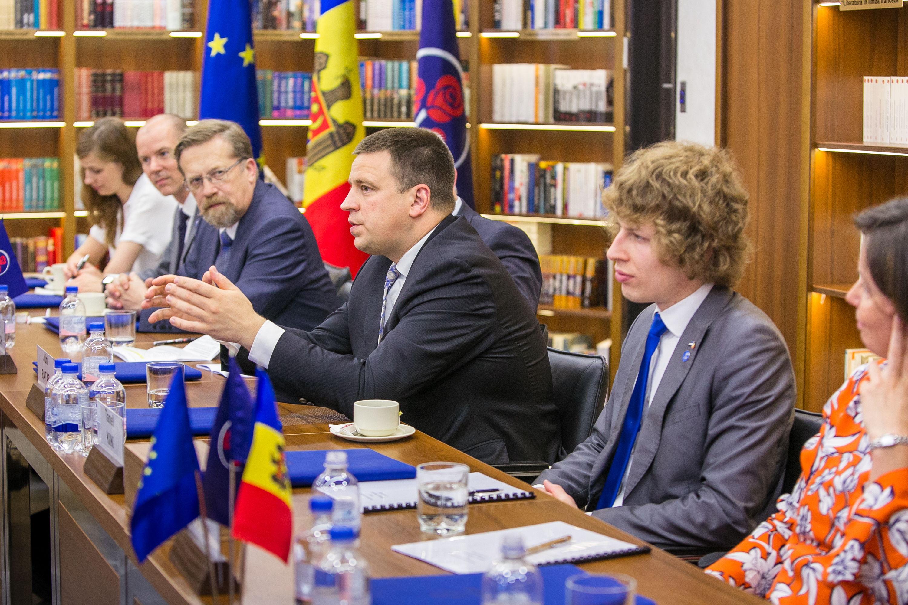 Chairman of the Democratic Party, Vlad Plahotniuc, to the Estonian Prime minister:  We Count on Estonian Support to Consolidate Moldova's European Project