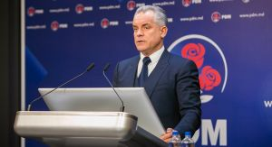 17th July 2018 - Press briefing, held by the leader of the DPM Vlad Plahotniuc