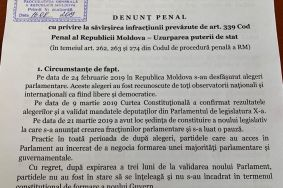 PDM demands that Prosecutor General's Office Initiates Criminal Prosecution for Usurpation of State Power by Current Government