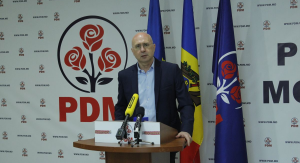 Briefingul președintelui PDM, Pavel Filip